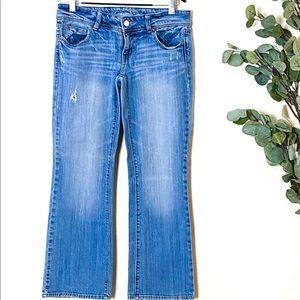 American Eagle Jeans Sz 10 Short Stretch EUC